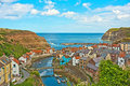 Staithes........... an artist's delight Royalty Free Stock Photo