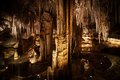 Stalactite and Stalagmite Formations in the Cave Royalty Free Stock Images