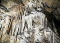 Stalactites and stalagmites in the cave Royalty Free Stock Photos