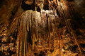 Stalactites and stalagmites in a cave beredine croatia Stock Images