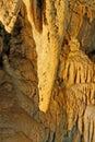 Formujúce sa stalagmity