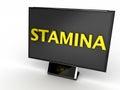 Stamina Monitor Stock Photography