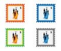 Stamp Stock Image