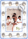 Stamp with Beatles Royalty Free Stock Image