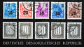Stamp deutsche demokratische republik philately Stock Images