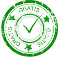 Stamp gratis Stock Photo