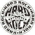 Stamp hard rock Stock Photos