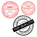 Stamp -  set Royalty Free Stock Photography