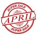April super sale