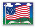 Stamp United States Stock Image