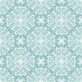 Floral seamless pattern damask baroque