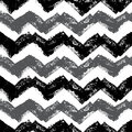 Stamped chevron pattern gray and black in a repeating seamless tile able Royalty Free Stock Photos