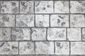 Stamped concrete floor background Royalty Free Stock Photo
