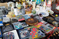 Stand on the open air flea market karlsruhe germany – september weekend at messplatz september in karlsruhe germany in at Stock Photography