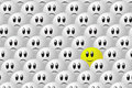 Stand out from the crowd editable vector eps