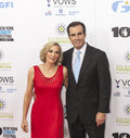 Stand up for heroes new york ny november journalist bob woodruff and lee woodruff attend the th annual event at madison square Stock Photos