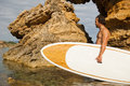 Stand Up Paddle Surf Royalty Free Stock Photo