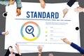 Standard Assurance Warranty Guarantee Concept Royalty Free Stock Photo