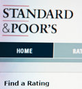 Standard and Poor's ratings Royalty Free Stock Photo