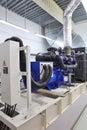 Standby generator Royalty Free Stock Photo