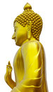 Standing Buddha. Royalty Free Stock Images