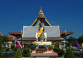 Standing Buddha at Thai temple Wat Thepnimit in Bangkok Royalty Free Stock Photo