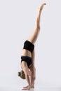 stock image of  Standing Split Pose