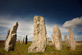Standing stones Stock Photography