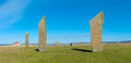 Standing Stones of Stenness, Orkney Island Royalty Free Stock Photo