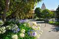 Stanford University Campus in Palo Alto Stock Photography