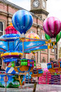 Stanworths funfair peppa pig balloon ride from Stock Photography