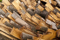 Stapel holz Stockbilder
