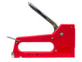 Stapler tools new red isolate Royalty Free Stock Photo