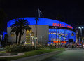 The staples center in los angeles ca home of la lakers and la clippers Royalty Free Stock Image