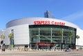 Staples Center Royalty Free Stock Photo