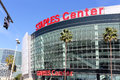 Staples center los angeles ca usa – march located in downtown los angeles is a large multi purpose sports arena Stock Images