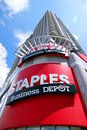 Staples Sign Royalty Free Stock Photo