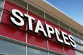 Staples Storefront Royalty Free Stock Photo