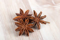 Star anise chinese badian illicium verum Royalty Free Stock Photo