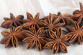 Star anise chinese badian illicium verum Stock Photography