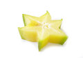 Star apple on white background Royalty Free Stock Photos