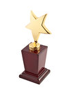 Star award on the white background Royalty Free Stock Photos