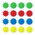 Different star burst icon. Royalty Free Stock Photo