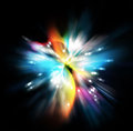 Star burst illustration background Royalty Free Stock Photo
