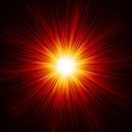 Star burst red and yellow fire eps vector file included Royalty Free Stock Photos