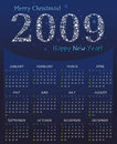 Star Calendar for 2009. Stock Photography