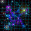Star_chart Stock Photography
