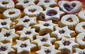 Star cookies Royalty Free Stock Images
