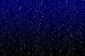 Star on the dark sky Royalty Free Stock Photo