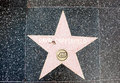 The star of david copperfield on walk fame on hollywood blvd los angeles california Royalty Free Stock Photography